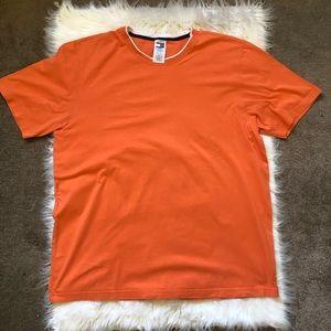 Tommy Hilfiger Men's Orange T-Shirt
